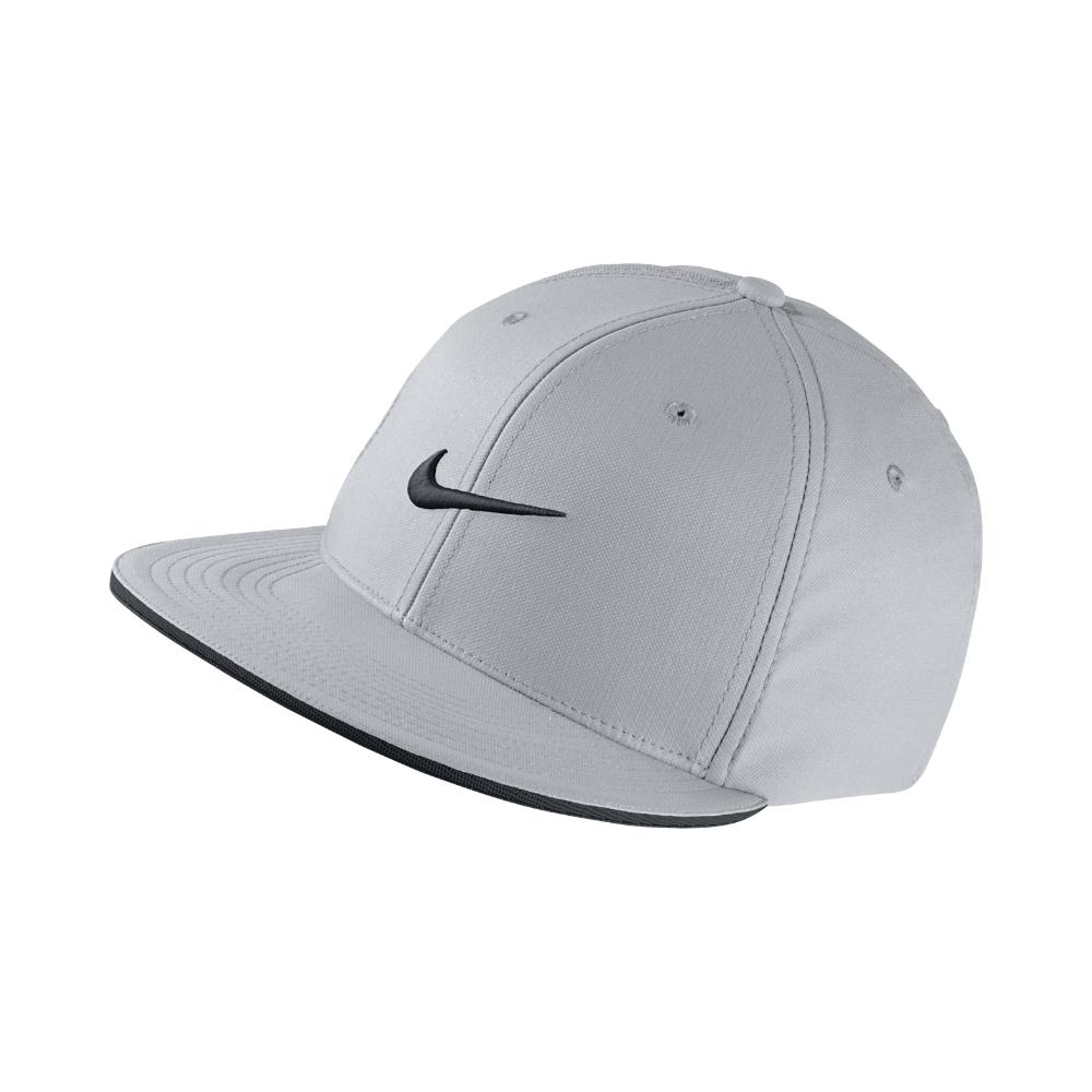 Lyst - Nike Golf True Statement Fitted Hat in Gray for Men 632461a392a