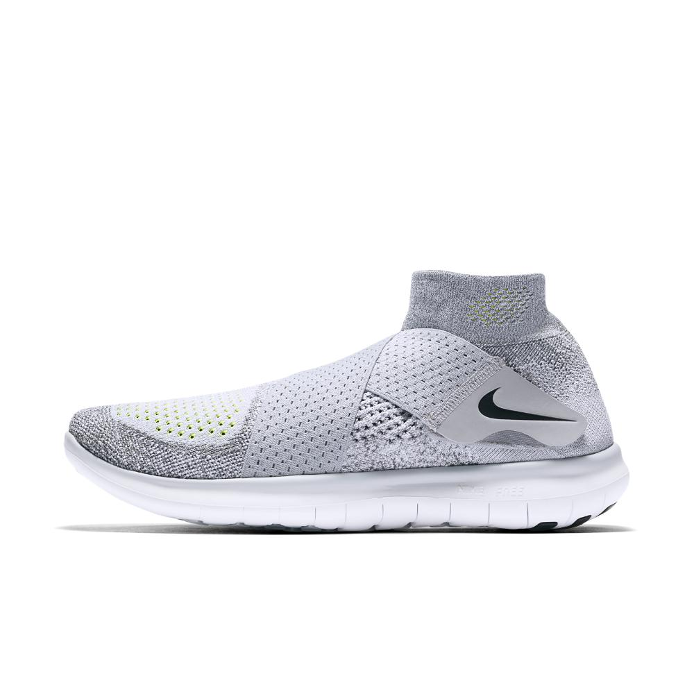 new concept 260f7 1d816 Nike - Gray Free Rn Motion Flyknit 2017 Women s Running Shoe - Lyst