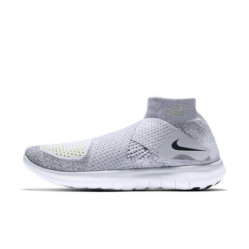 25c26dfa942da Lyst - Nike Free Rn Motion Flyknit 2017 Women s Running Shoe in Gray