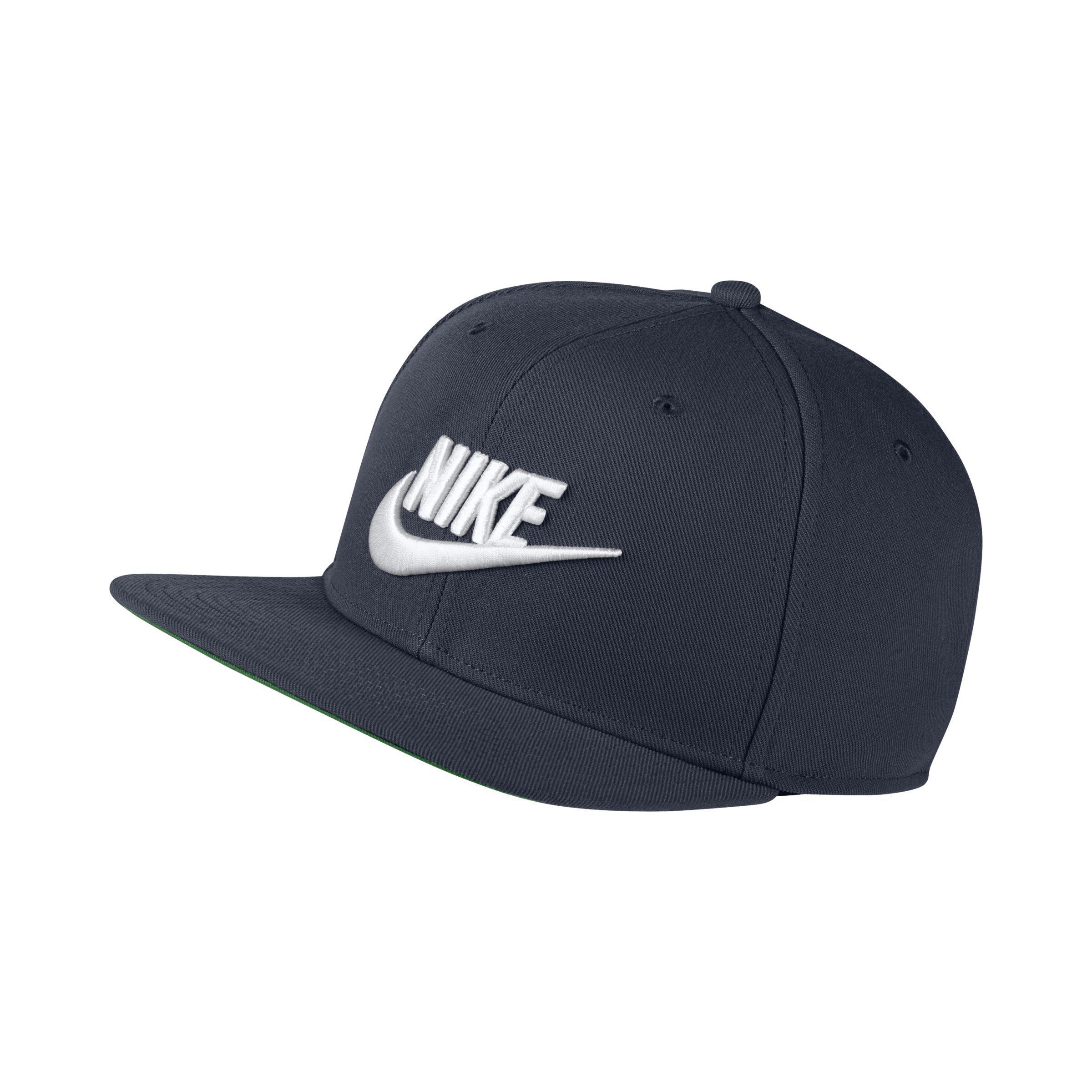 Nike Sportswear Pro Adjustable Hat in Blue - Lyst 72f1d099995b