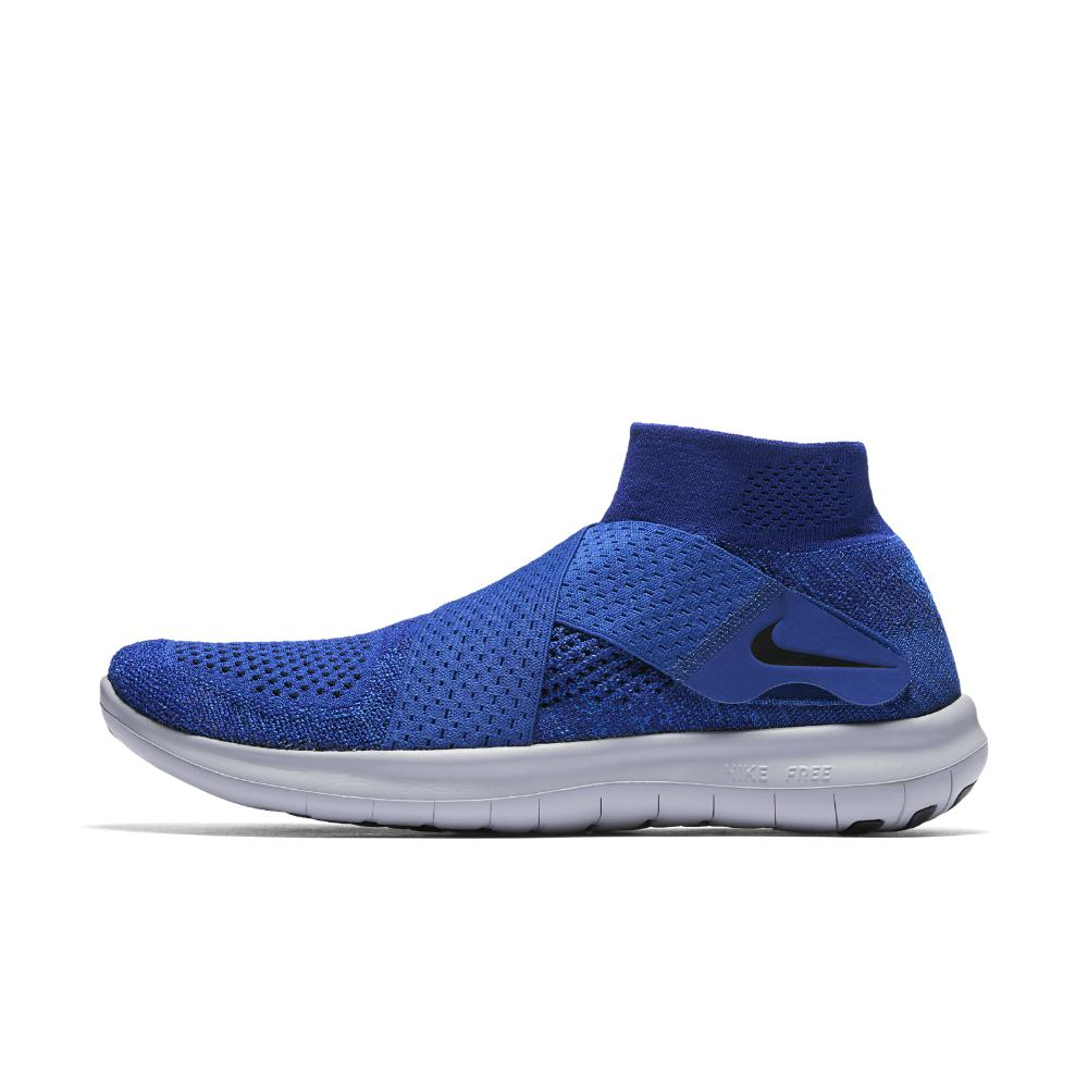 3bb4e1fc736a Nike - Blue Free Rn Motion Flyknit 2017 Men s Running Shoe for Men - Lyst