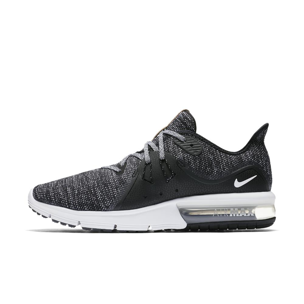 6eac3d607ef7 Lyst - Nike Air Max Sequent 3 Gs Trainers Black in Black for Men ...