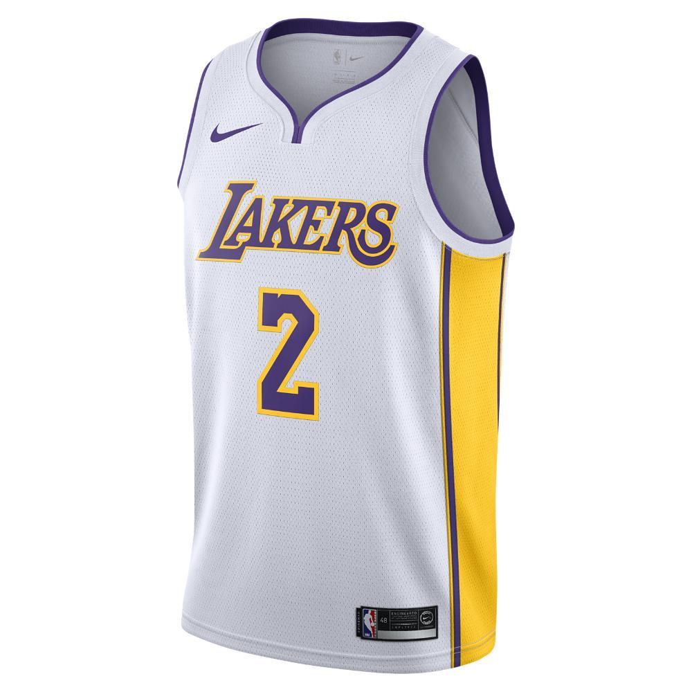 30f8eb73d No. Nike - White Lonzo Ball Association Edition Swingman Jersey (los  Angeles Lakers) Men s Nba. View fullscreen