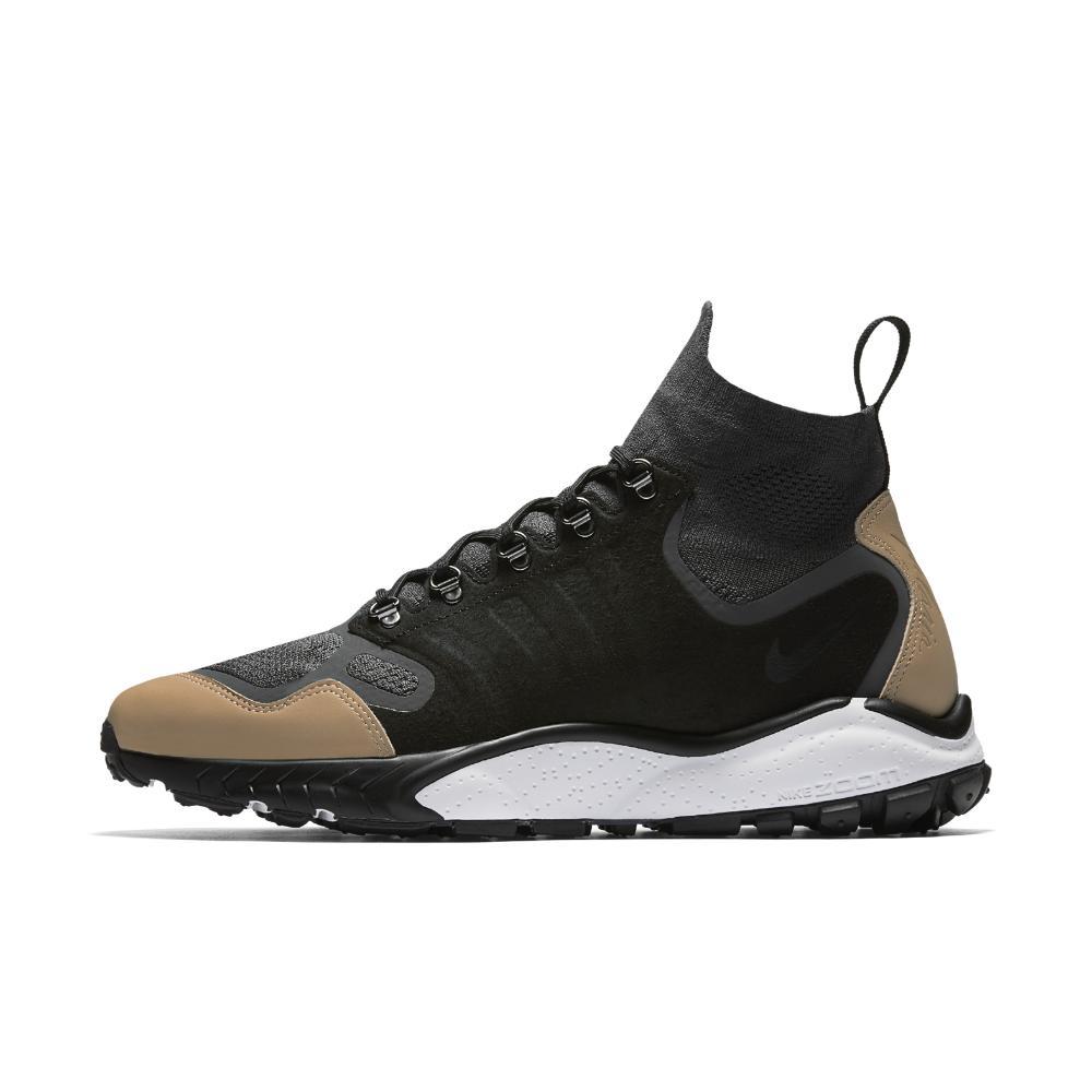 Lyst Nike Air Zoom Talaria Mid Flyknit Premium Men's Shoe in Black