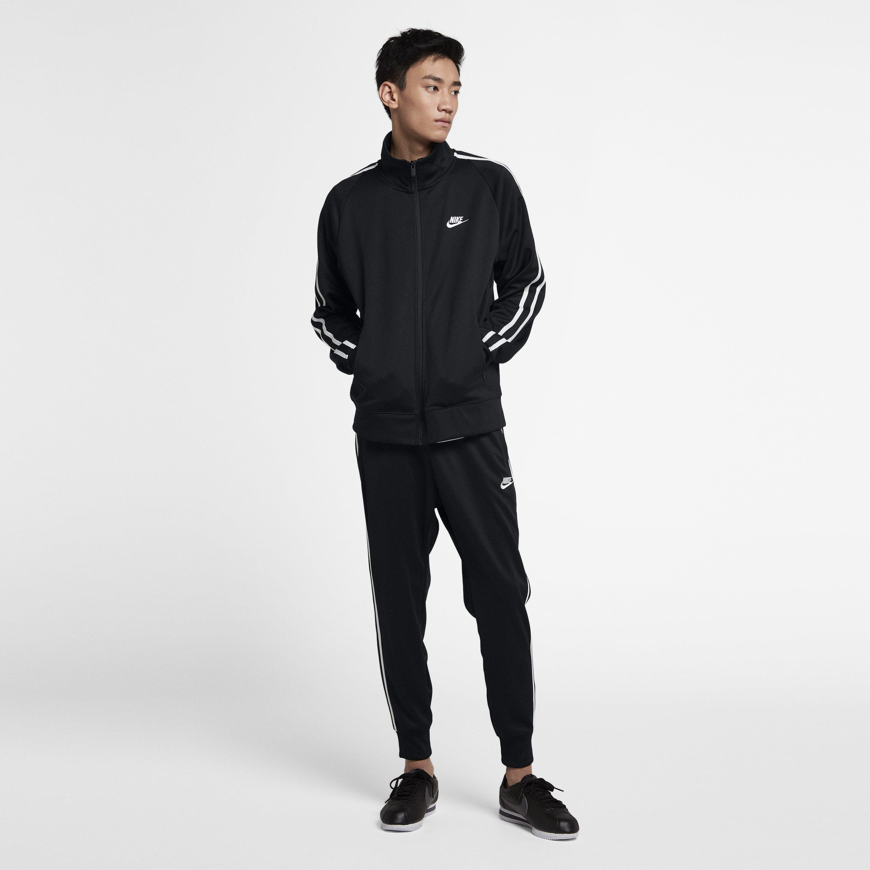 511388d59 Nike - Black Sportswear N98 Knit Warm-up Jacket for Men - Lyst. View  fullscreen