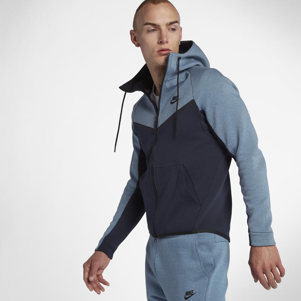 bf55986d7a085 Lyst - Nike Sportswear Tech Fleece Windrunner Men s Full-zip Hoodie ...