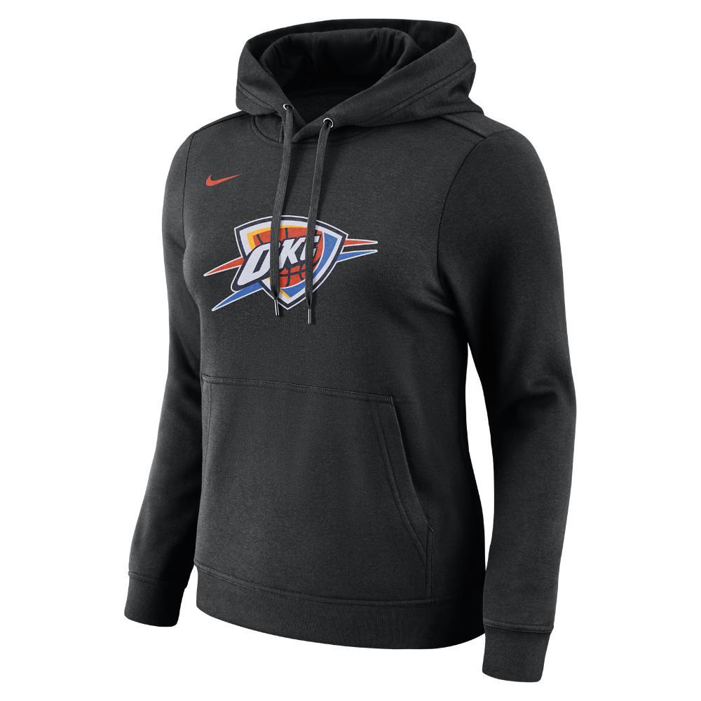 Lyst - Nike Oklahoma City Thunder Women s Fleece Nba Hoodie in Black b29f73b7b