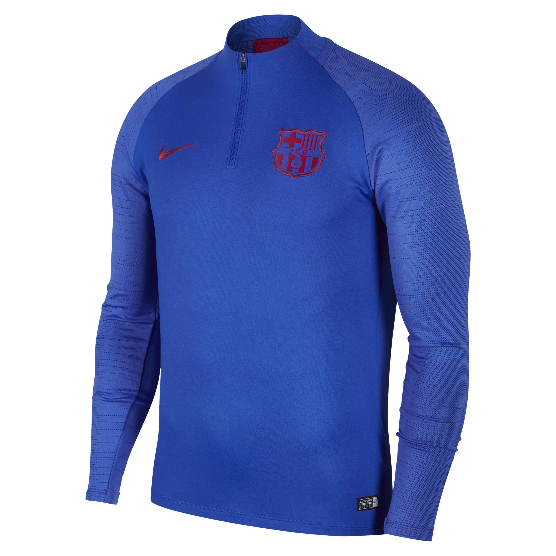 3023767e41 Nike Dri-fit Fc Barcelona Strike Football Drill Top in Blue for Men ...