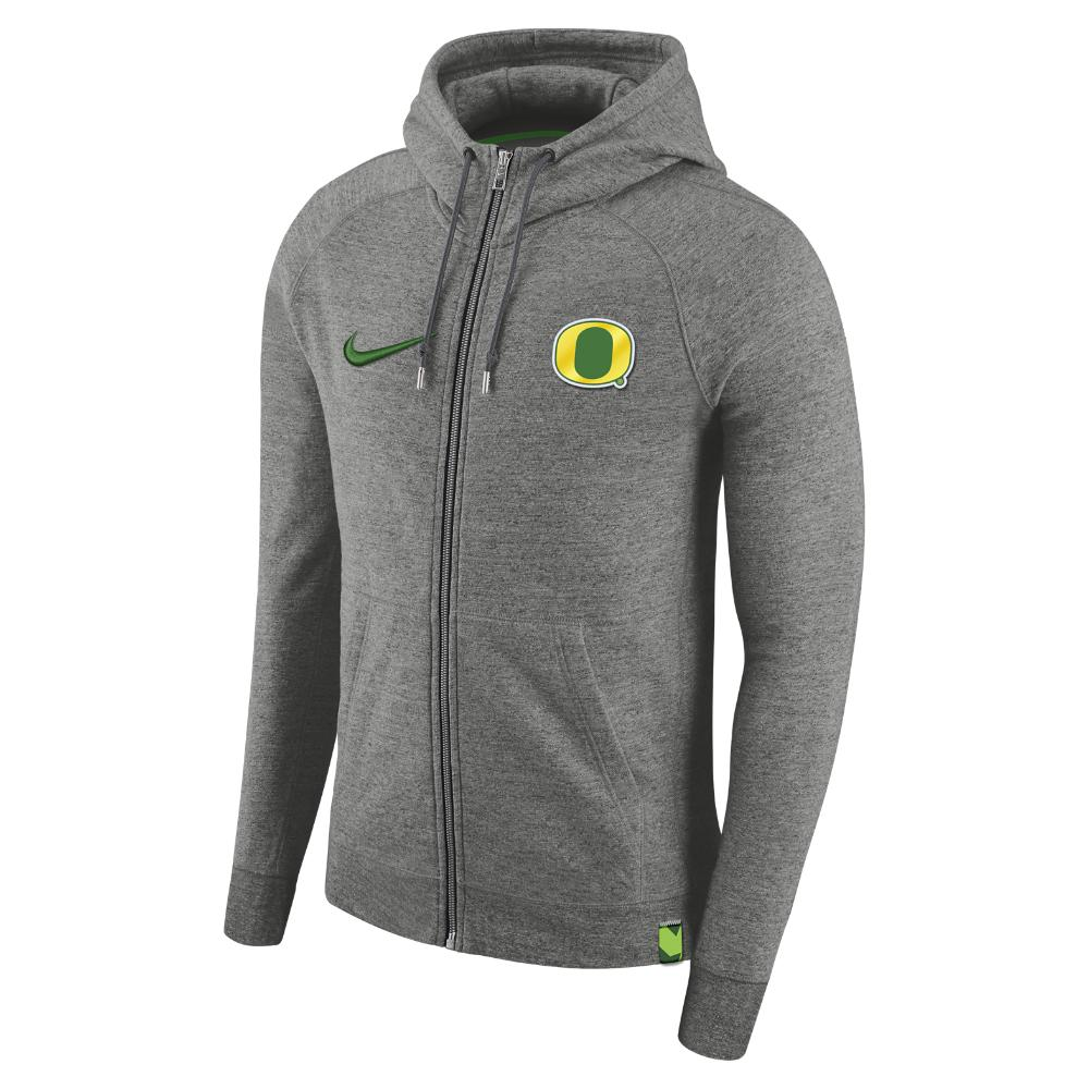 Designers Nike College Team Aw77 Full-Zip Hoodie Carbon Heather For Men Sale