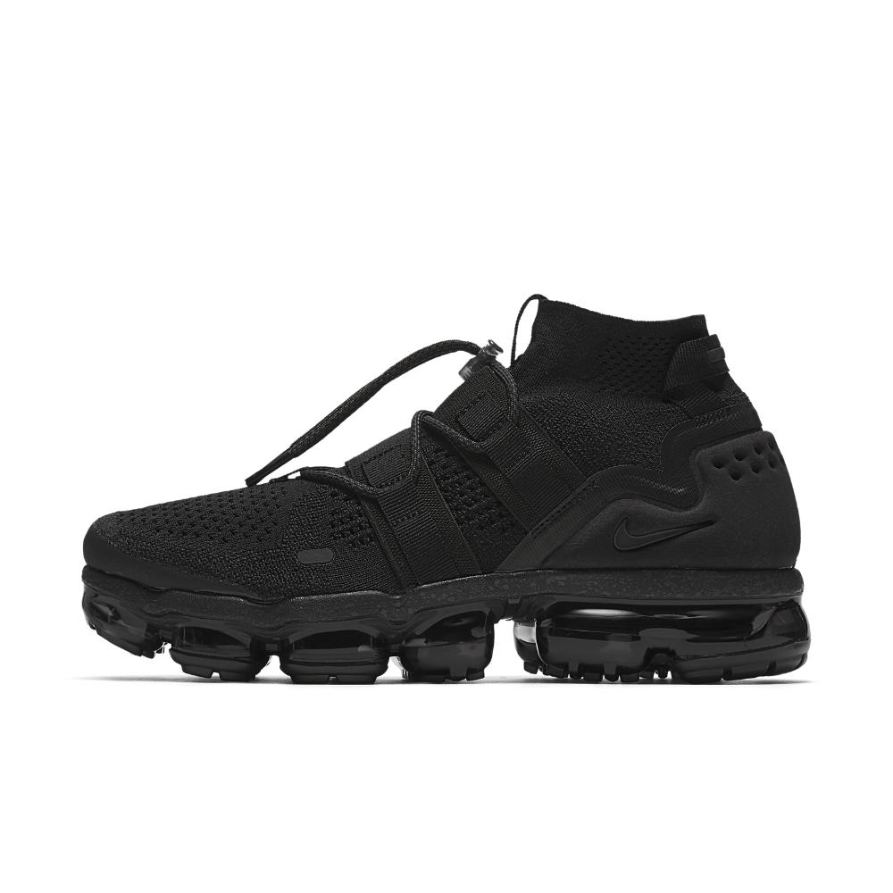 9a2a5354ddc6 Lyst - Nike Air Vapormax Flyknit Utility Running Shoe in Black for Men