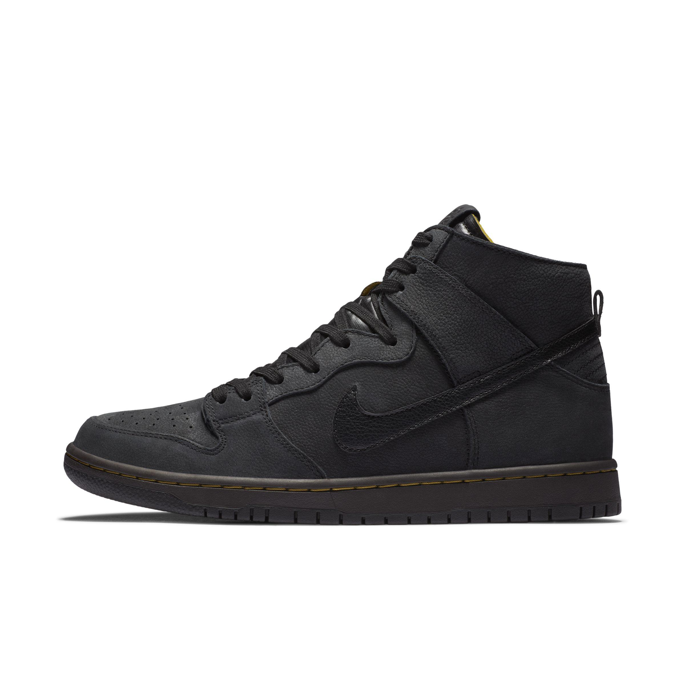 more photos b68e7 82813 Nike Sb Zoom Dunk High Pro Deconstructed Premium Skate Shoe in Black ...