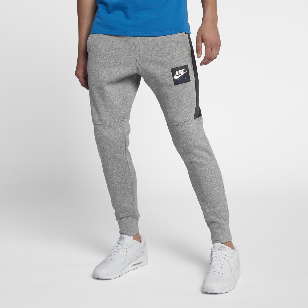 96c3d0744c28 Lyst - Nike Air Men s Fleece Joggers in Gray for Men