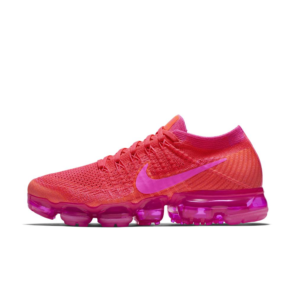cee410f9a1c ... wholesale nike pink air vapormax flyknit womens running shoe lyst c1a00  c4b4d