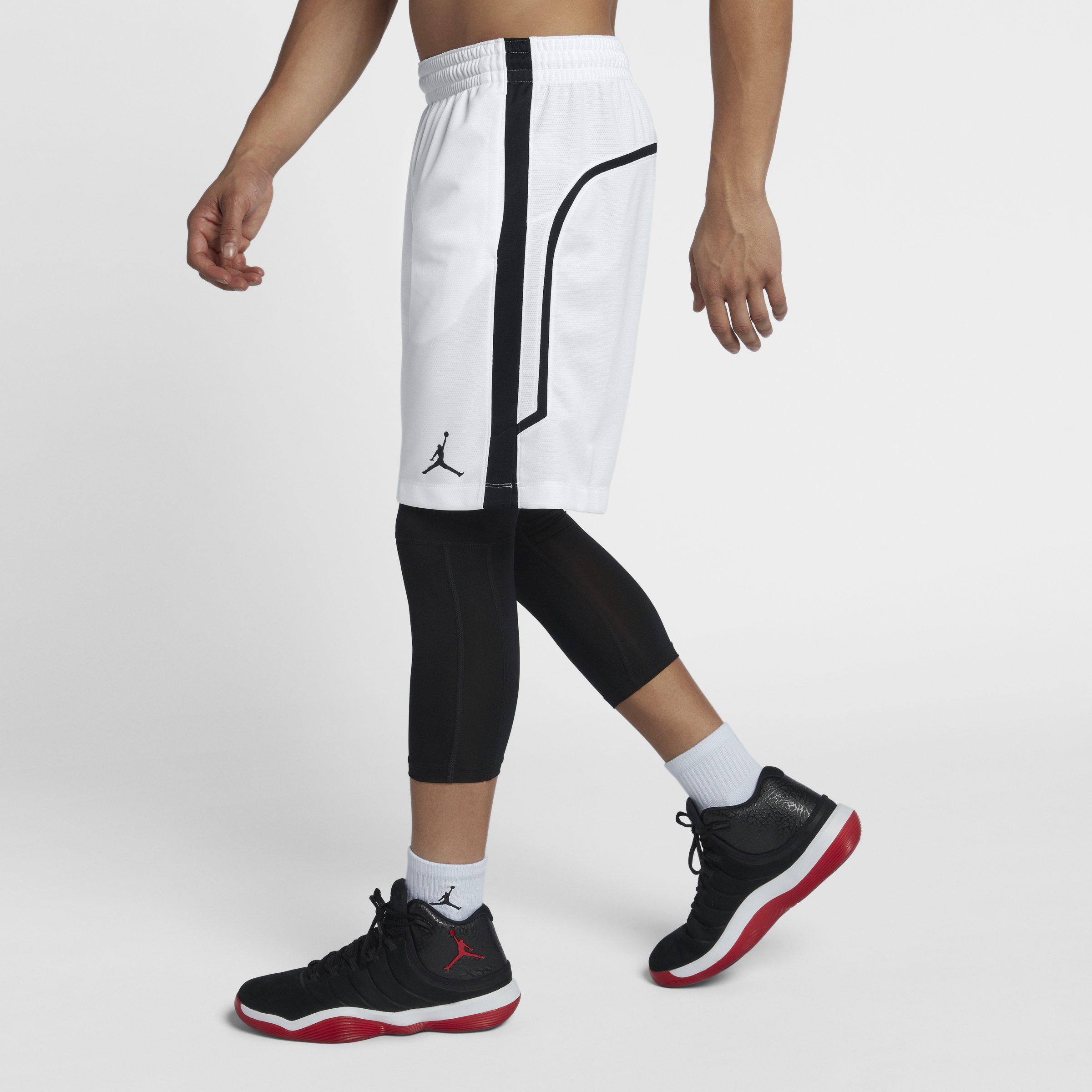 45ccebf94e2 Nike Jordan Flight Basketball Shorts in White for Men - Lyst