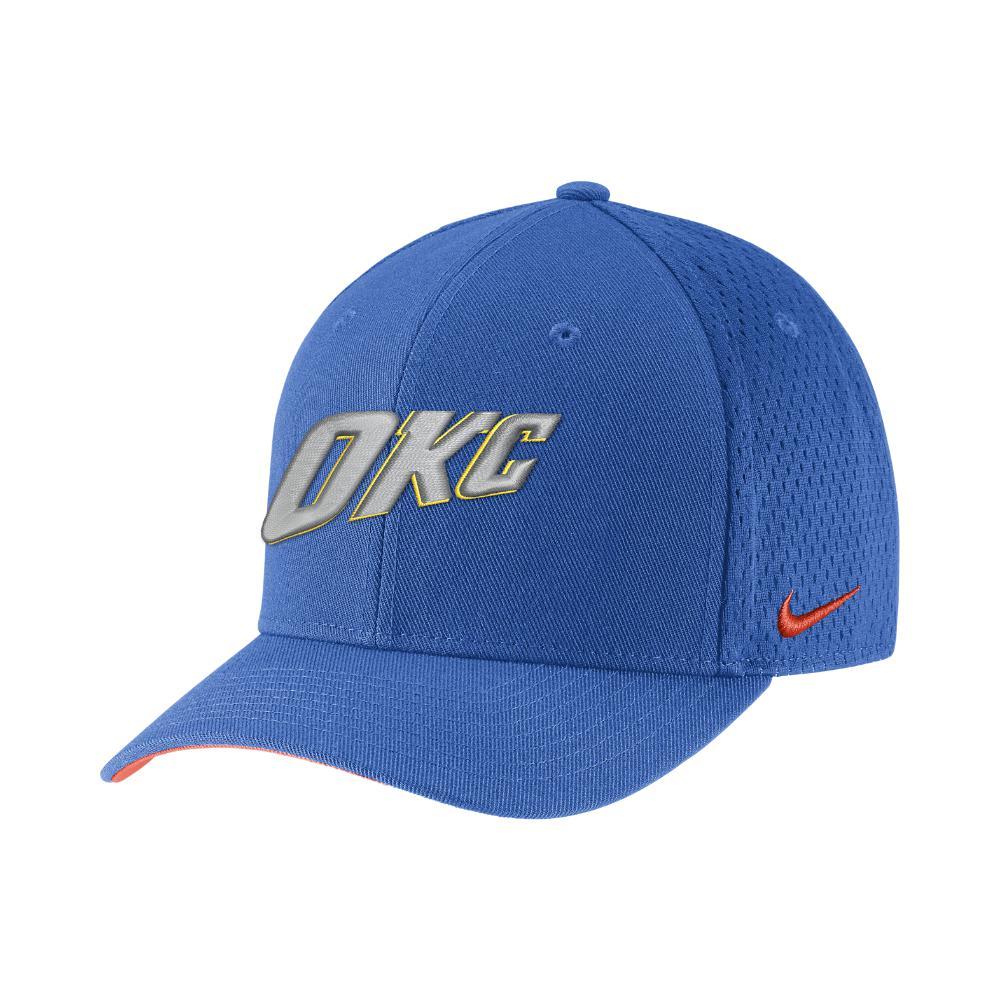 fc519cfb188 Lyst - Nike Oklahoma City Thunder City Edition Classic99 Nba Hat ...