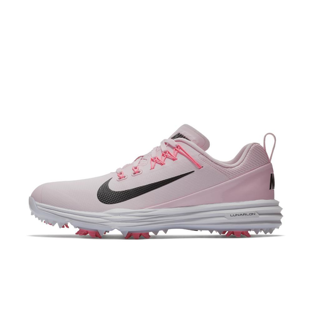 375a1619ef63 Lyst - Nike Lunar Command 2 Women s Golf Shoe in Pink
