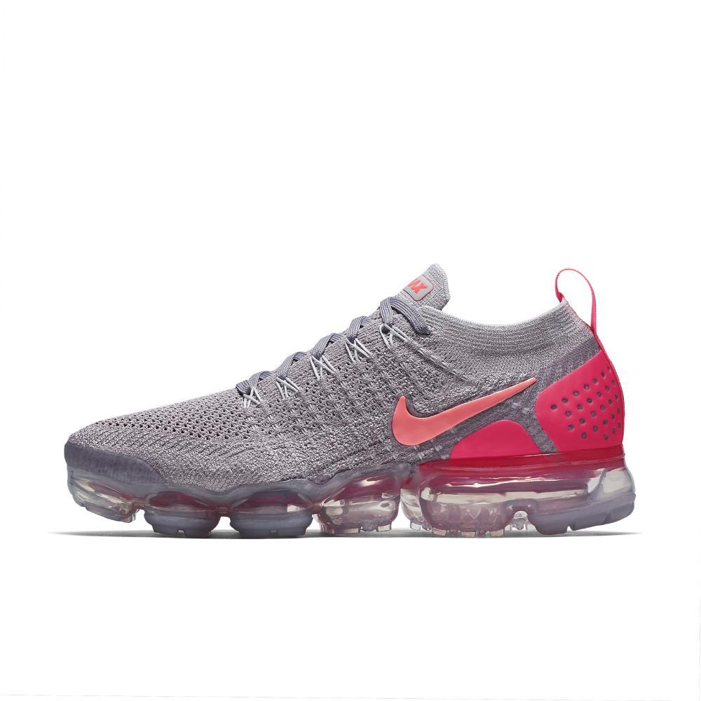 size 40 4e322 0c67e Nike - Gray Air Vapormax Flyknit 2 Womens Running Shoe - Lyst
