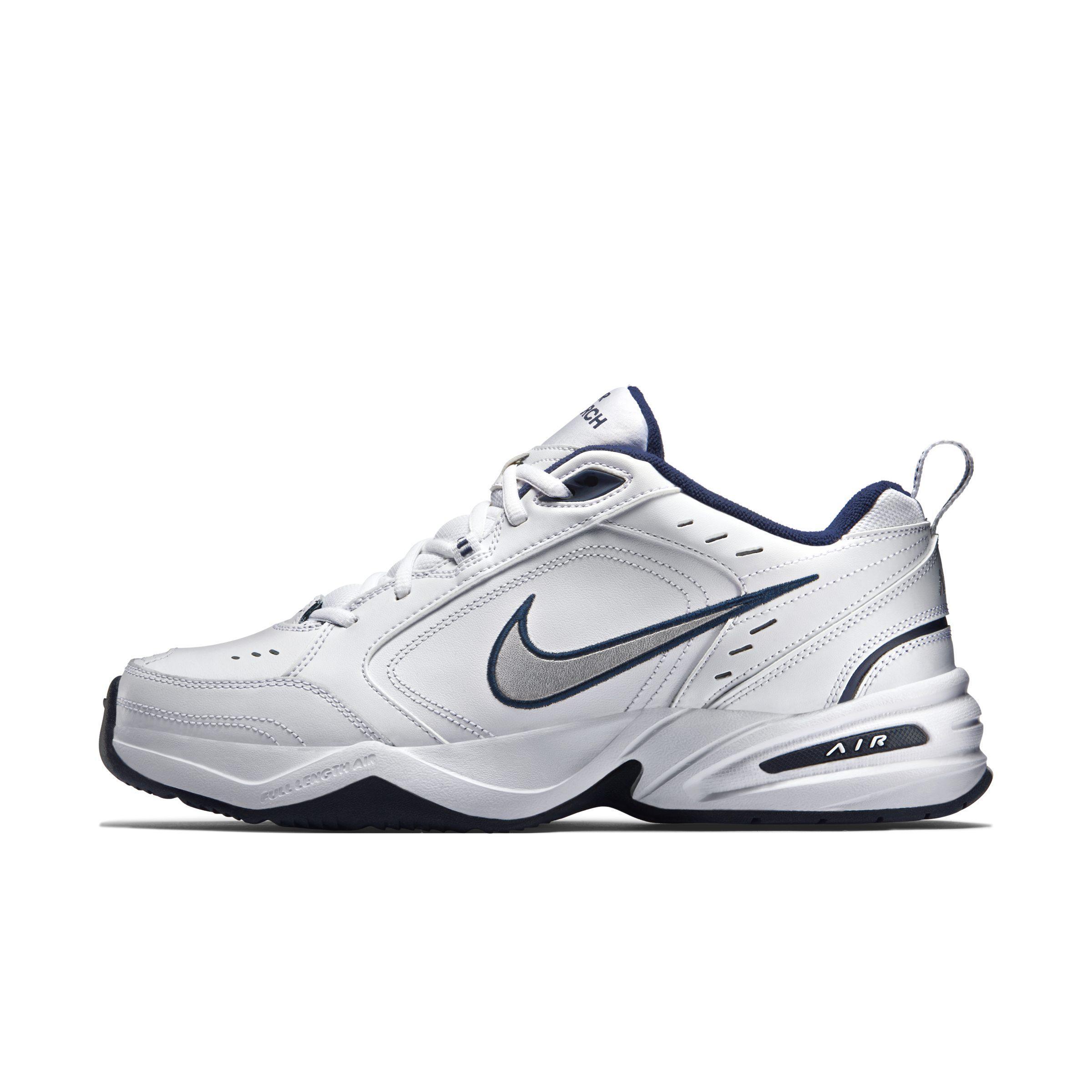 14050ef1c7f30b Nike Air Monarch Iv Lifestyle gym Shoe in White - Lyst