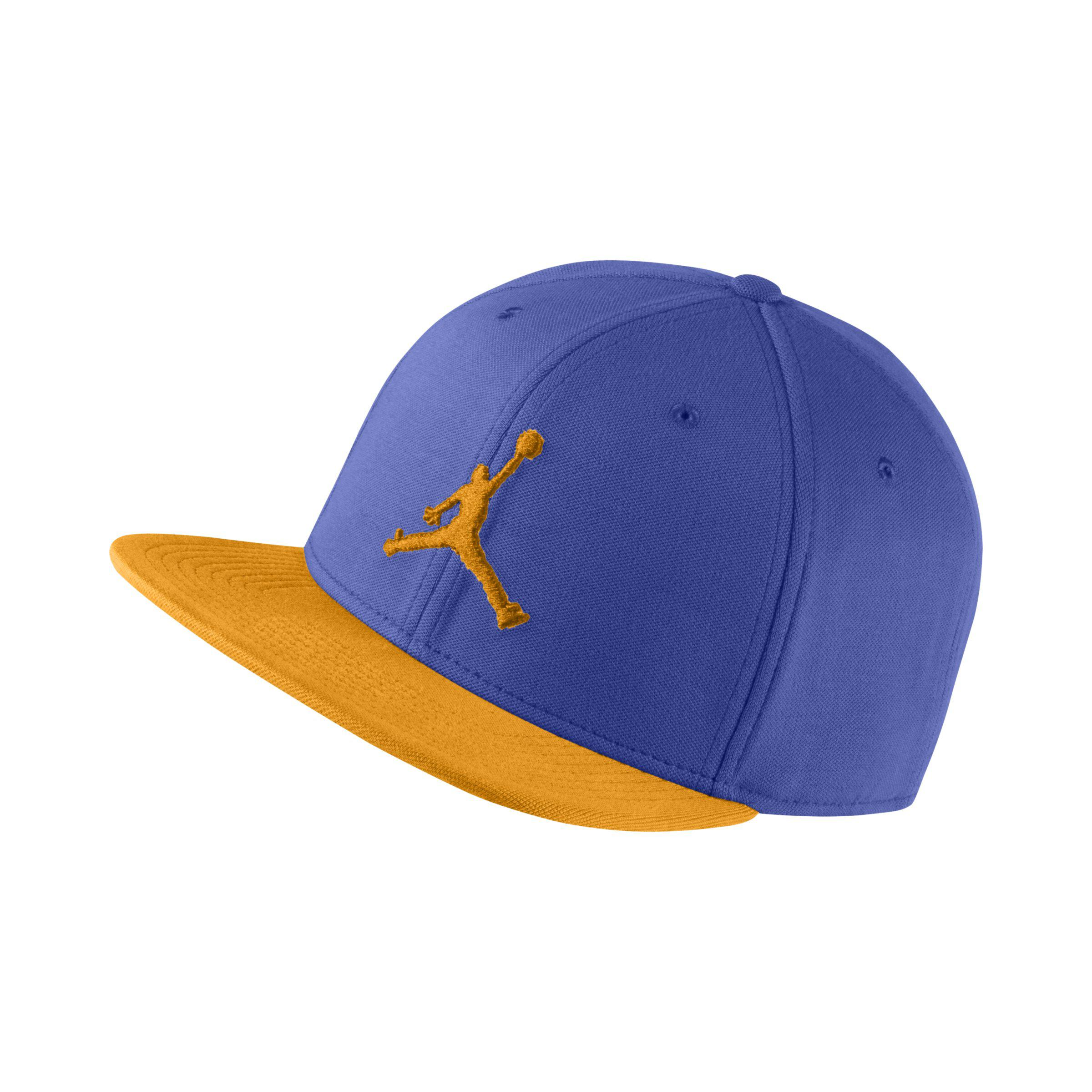 d31d92cca37fc Nike Jordan Jumpman Snapback Adjustable Hat in Blue - Lyst