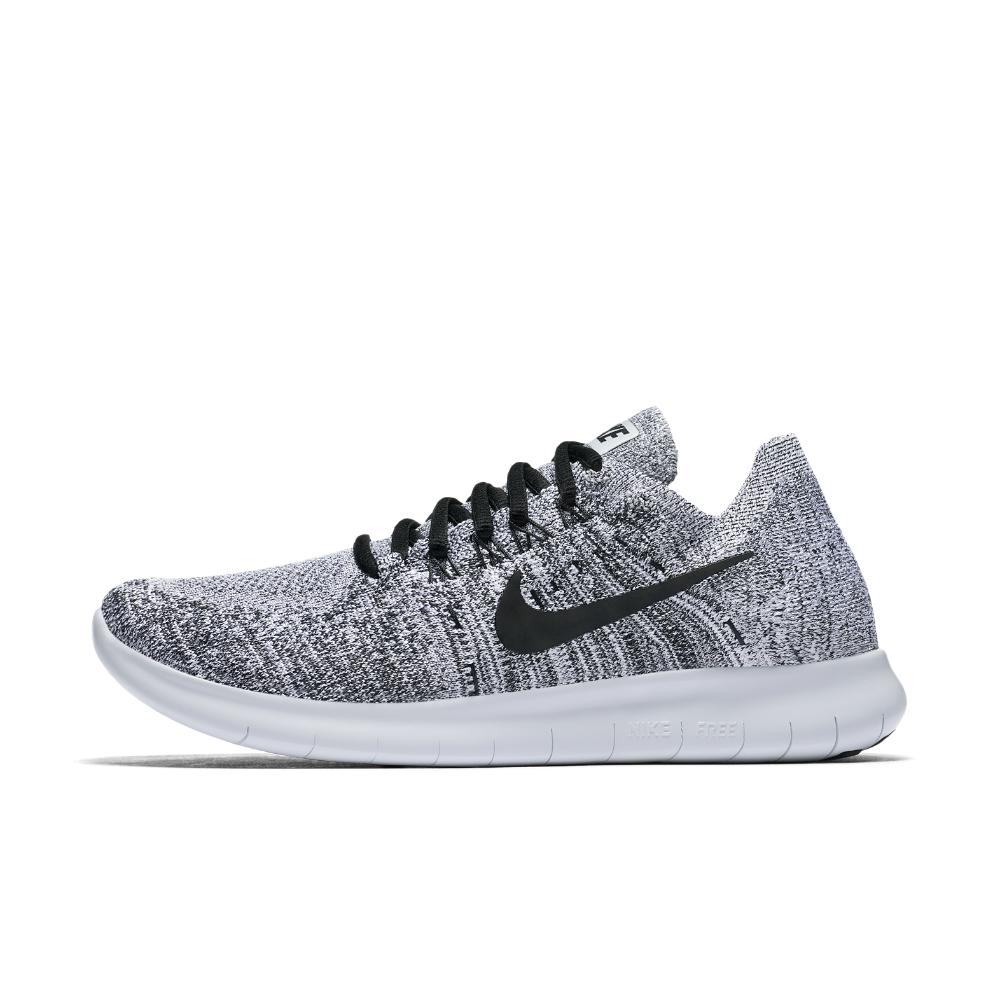 3df31fff2353 Lyst - Nike Free Rn Flyknit 2017 Women s Running Shoe in White