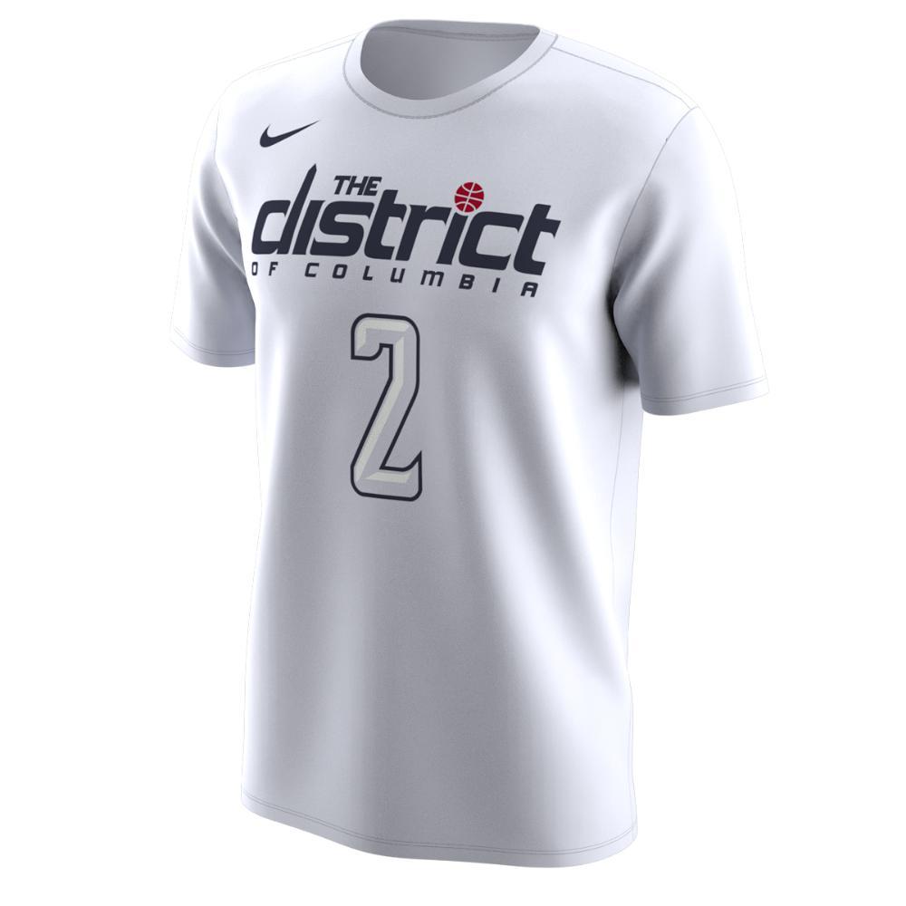 8fb11f78e943 Lyst - Nike Washington Wizards City Edition (john Wall) Dri-fit ...