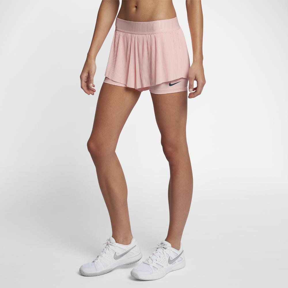 Lyst - Nike Court Flex Maria Women s Tennis Shorts in Pink 532a3349c