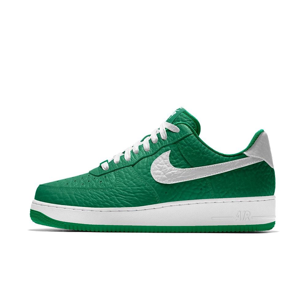 the best attitude ca194 d5eb1 Nike Air Force 1 Low Premium Id (boston Celtics) Men's Shoe in Green ...
