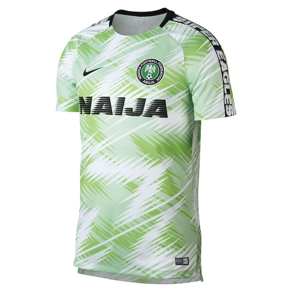 7104a8ab6e2 Nike Nigeria Dri-fit Squad Men's Soccer Top in Green for Men - Lyst