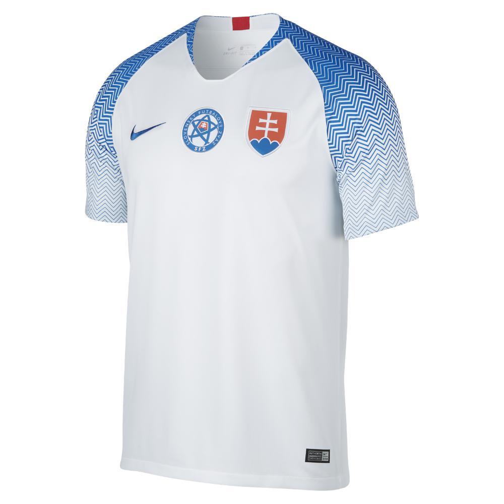 4f8cfe87d3156 Lyst - Nike 2018 Slovakia Stadium Home Men's Soccer Jersey in Blue ...