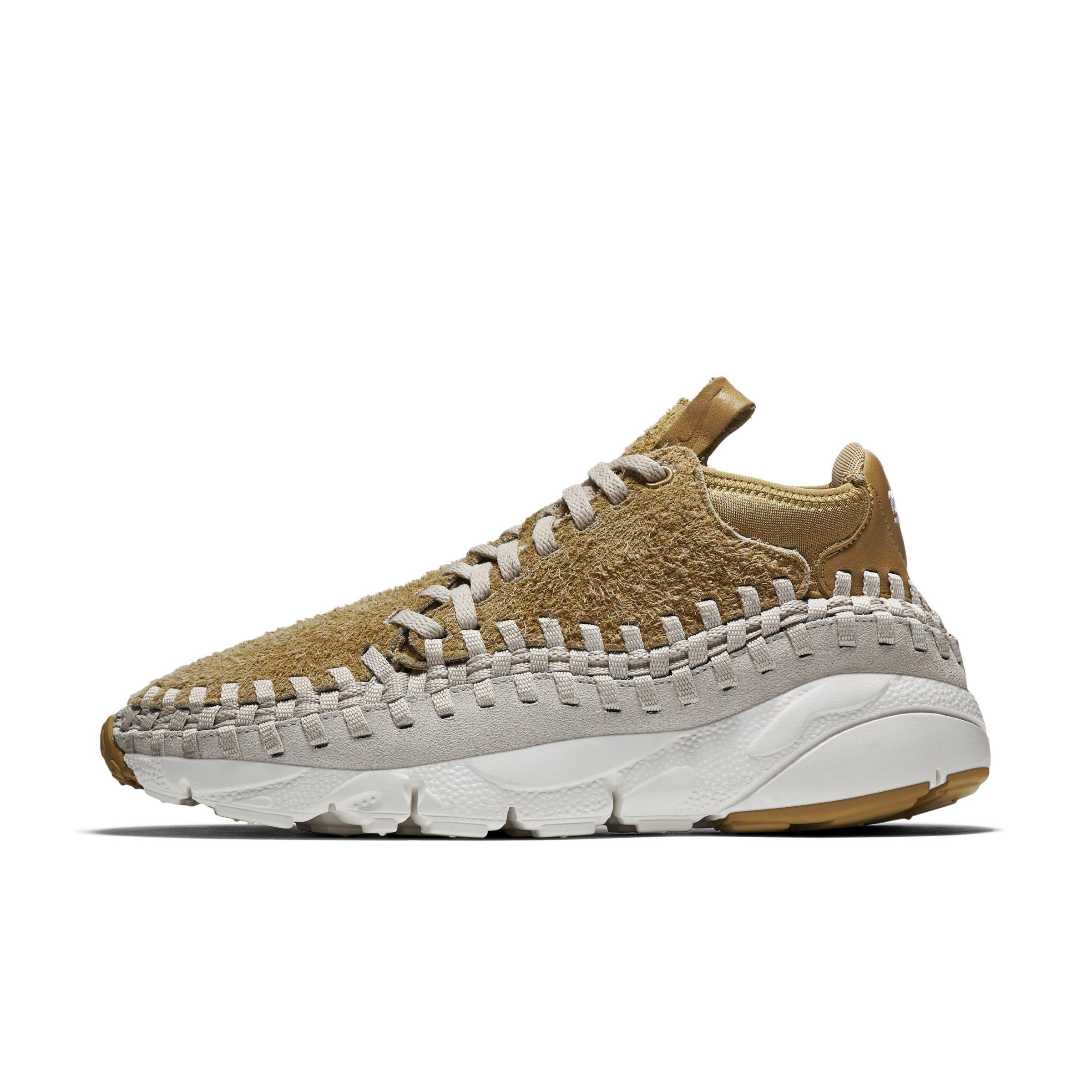 6d91adcd98c2 Nike Air Footscape Woven Chukka Qs Shoe in Metallic for Men - Lyst