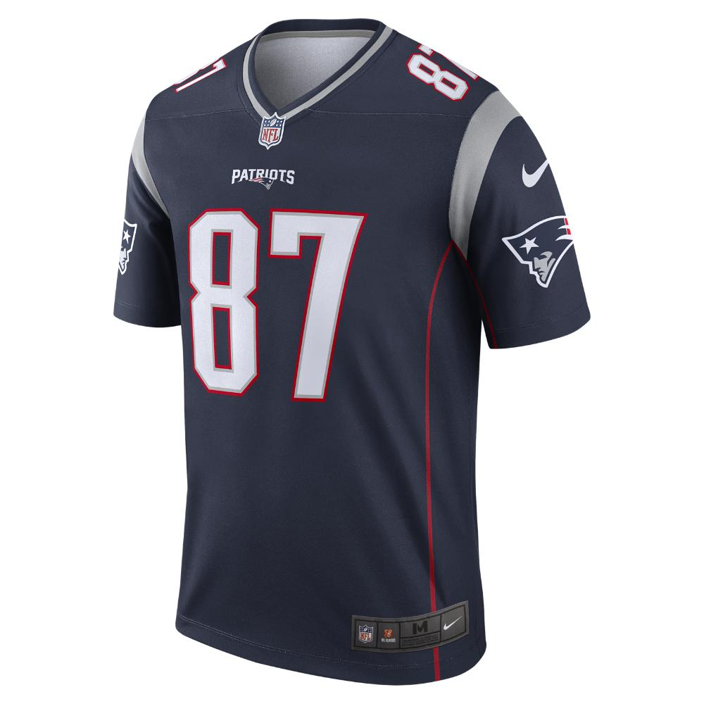 1038490f0 Lyst - Nike Nfl New England Patriots (rob Gronkowski) Men s Football ...