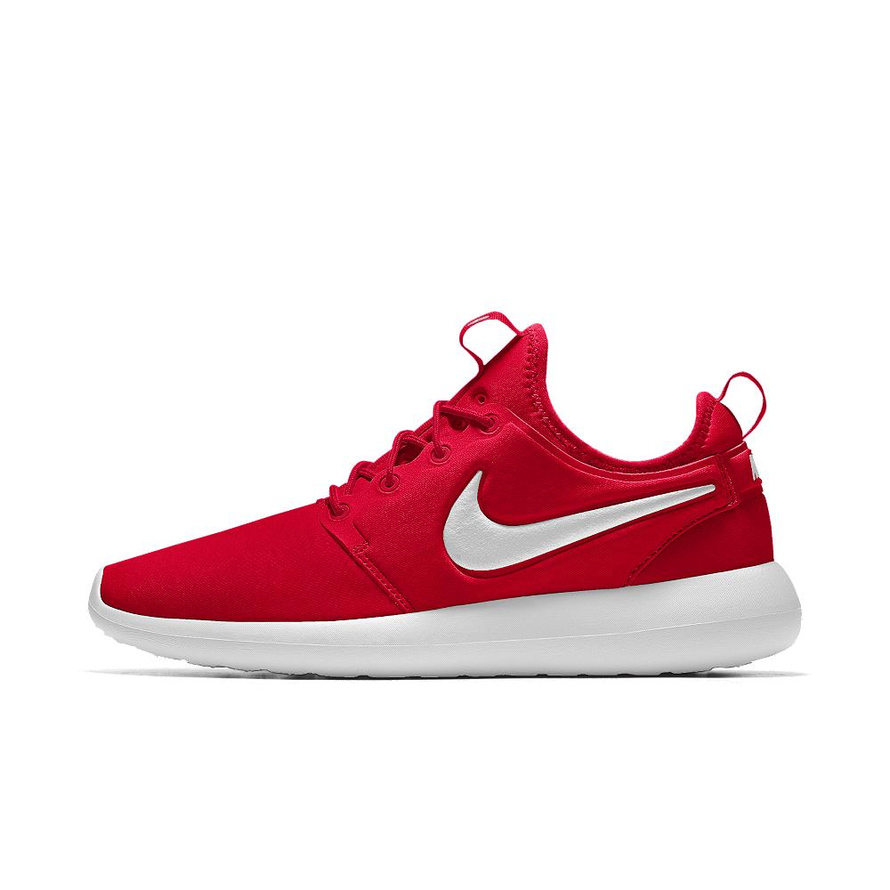 c31b791b56fd Lyst - Nike Roshe One Essential Id Women s Shoe in Red - Save 32%