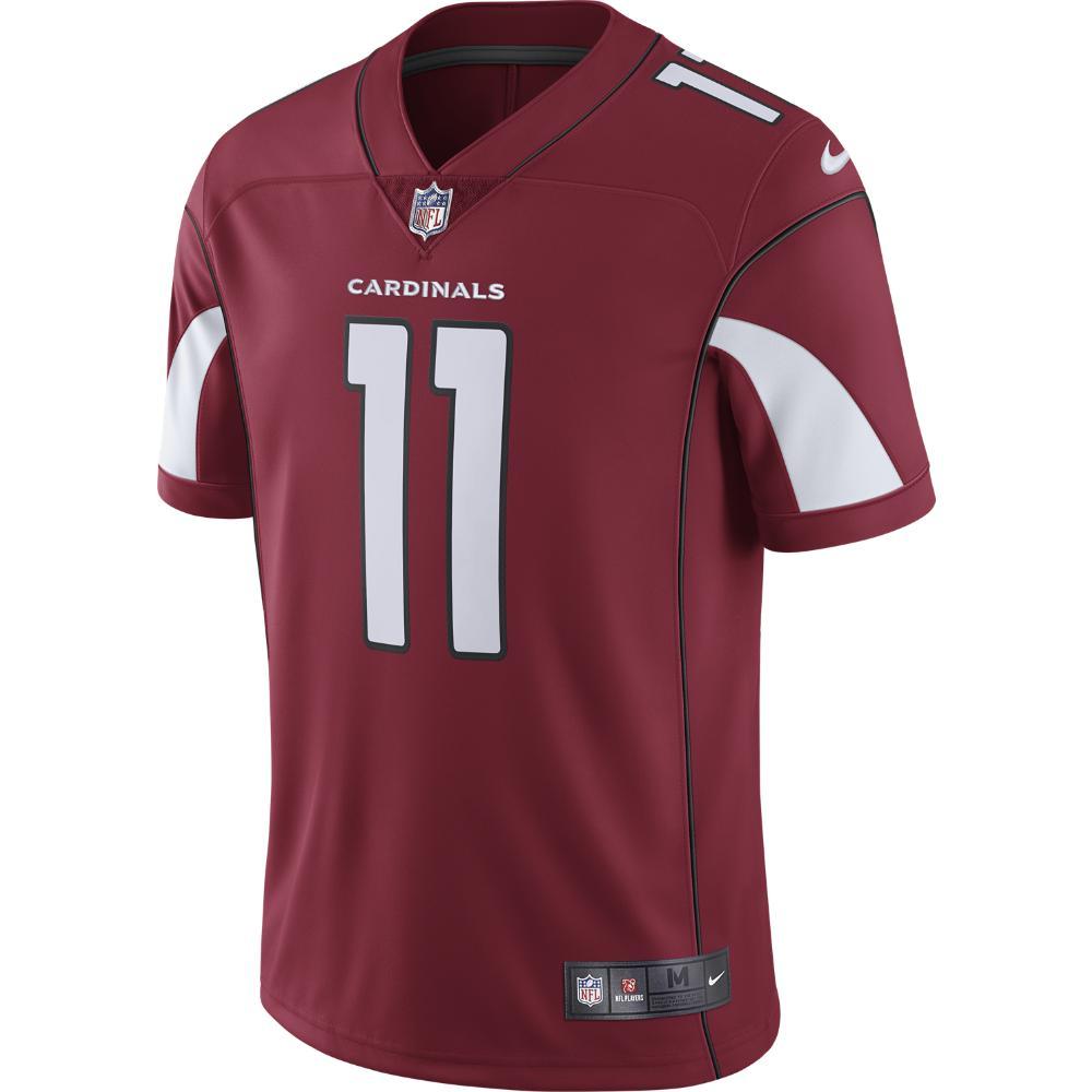 Nike. Red Nfl Arizona Cardinals Limited (larry Fitzgerald) Men s Football  Jersey 8544b9a90