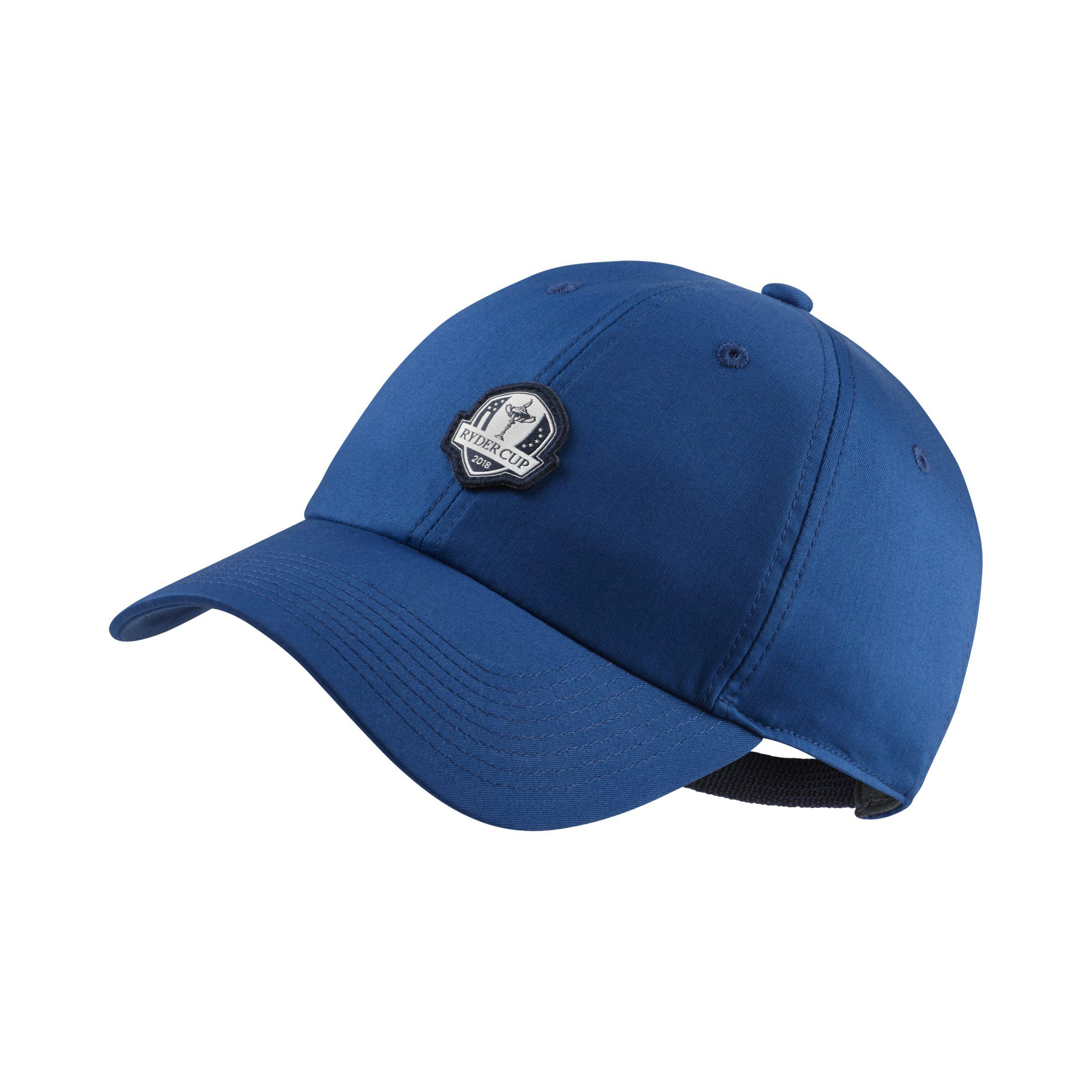 2f9c1c42d50 Nike Heritage86 Ryder Cup Golf Hat in Blue - Lyst
