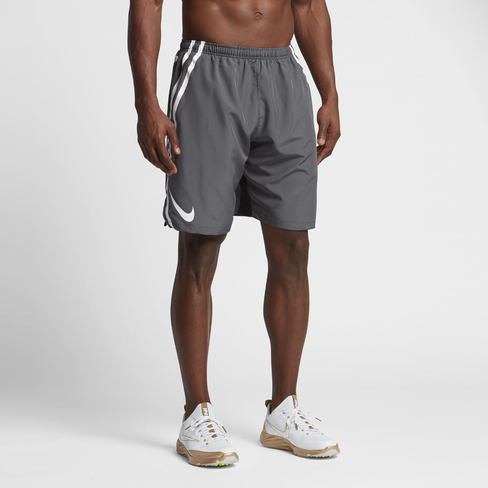 11a4c2cd84eb Lyst - Nike Dry Untouchable Woven Men s Football Shorts in Gray for Men
