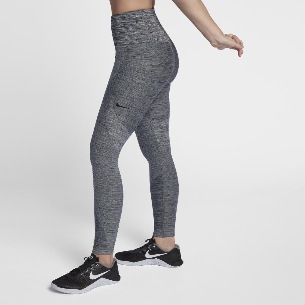 d5d49288068 Lyst - Nike Power Sculpt Women s Training Tights in Black