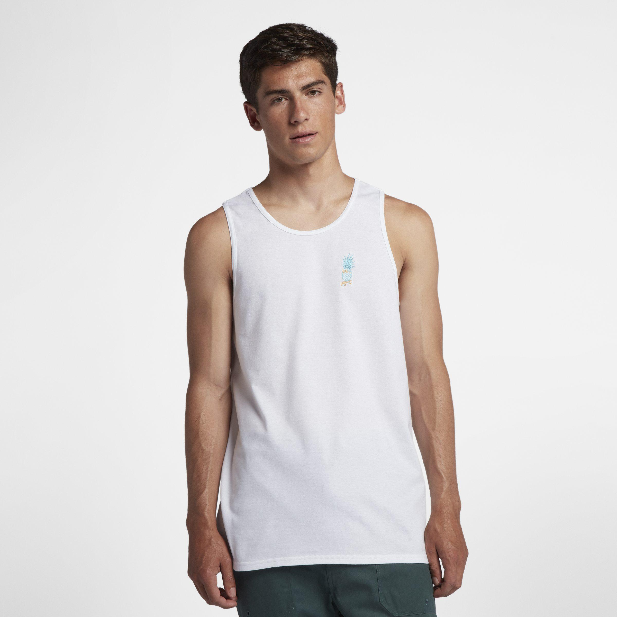 ede5f9fa59a54 Nike Hurley Premium Juicy Vibe Tank in White for Men - Lyst