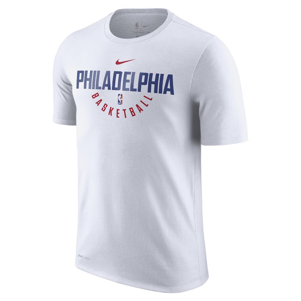 Lyst - Nike Philadelphia 76ers Dry Men s Nba T-shirt in White for Men 7d88531de
