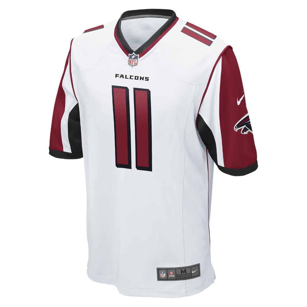 d032159f846 Nike. Red Nfl Atlanta Falcons (julio Jones) Men s Football Away Game Jersey