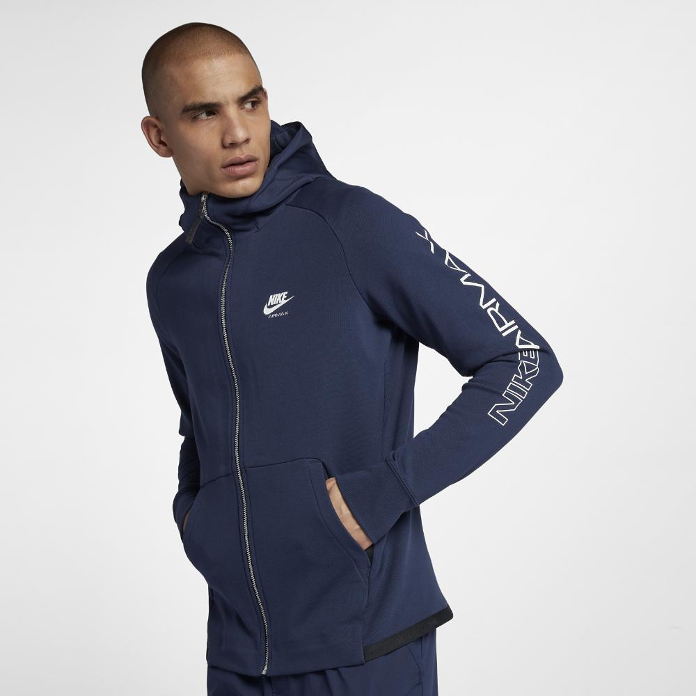 48f7296a04c1 Nike - Blue Sportswear Men s Full-zip Hoodie for Men - Lyst. View fullscreen