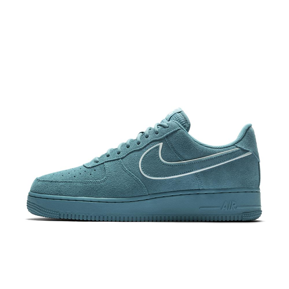 8ec05403bbb8e0 Lyst - Nike Air Force 1 07 Lv8 Suede Men s Shoe in Blue for Men