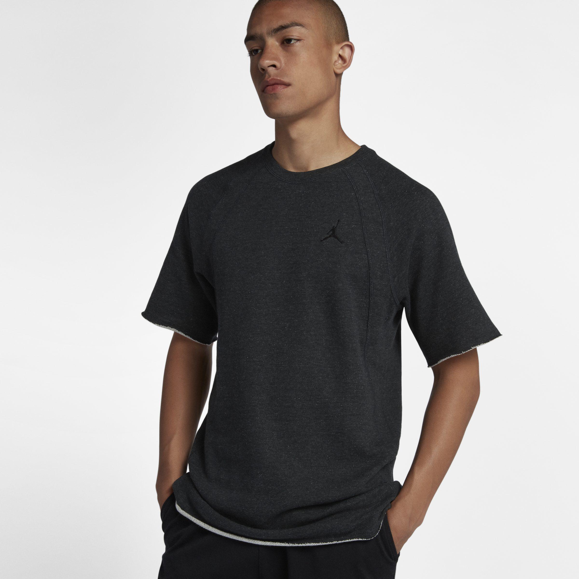 9d97132f7725 Nike Jordan Lifestyle Wings Short-sleeve Crew in Black for Men - Lyst