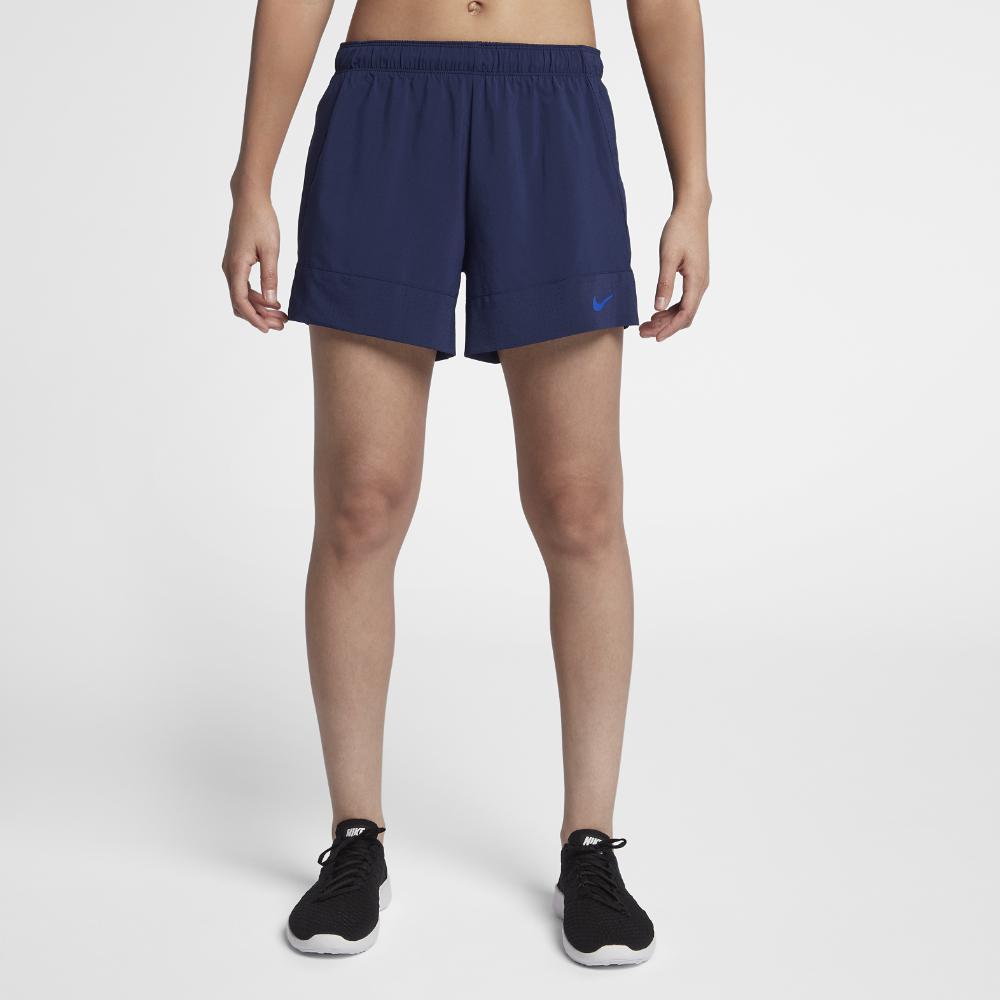 376f81a3bad0 Lyst - Nike Dri-fit Flex 2-in-1 Women s Training Shorts in Blue