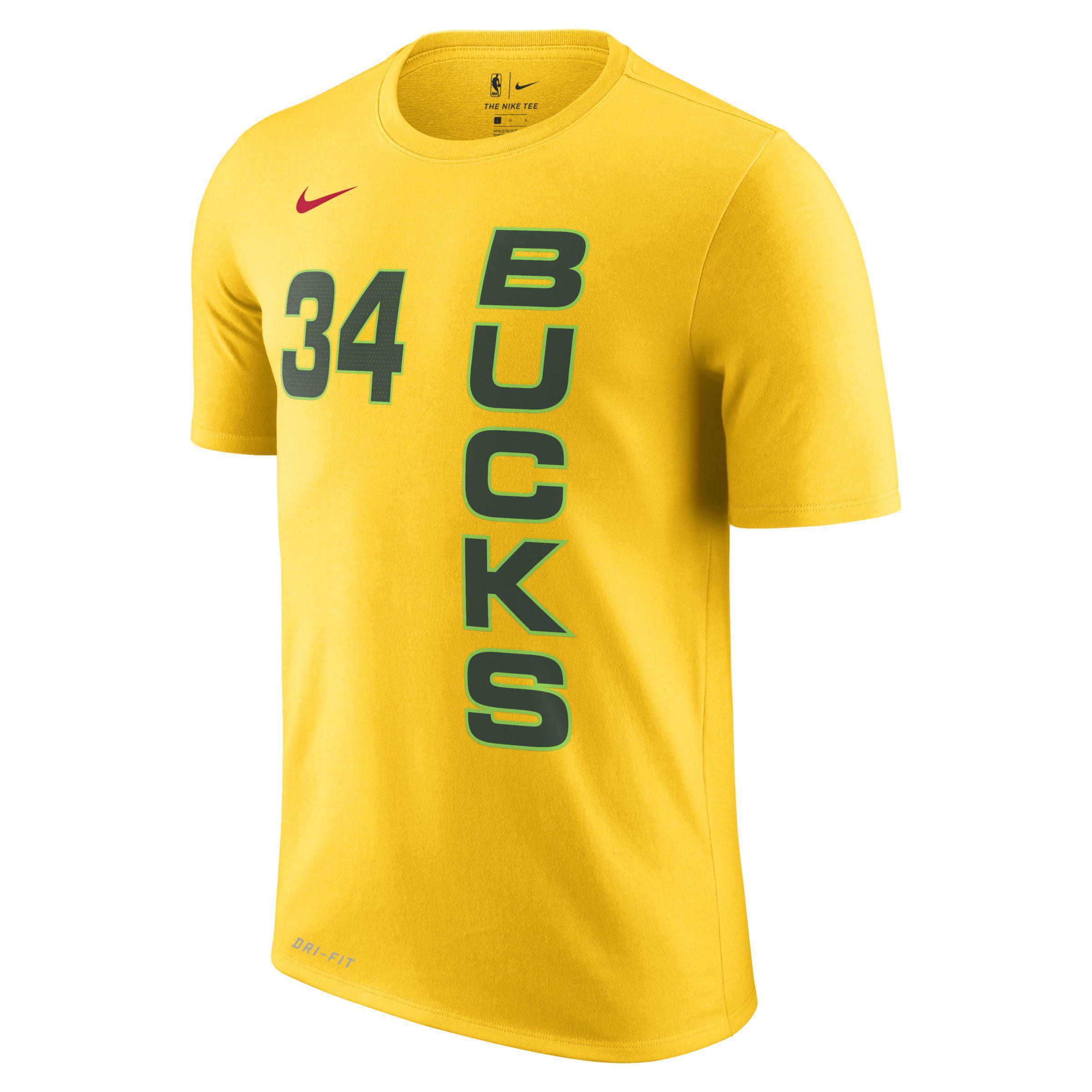 06dcdd6eac6 Nike Giannis Antetokounmpo Milwaukee Bucks City Edition Dri-fit Nba ...