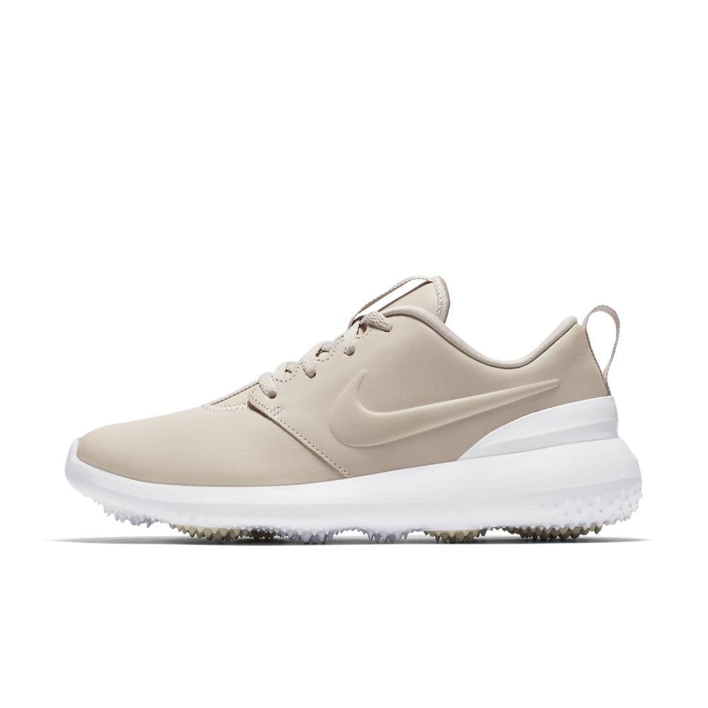 5c84b0d1de38 Lyst - Nike Roshe G Premium Women s Golf Shoe in White
