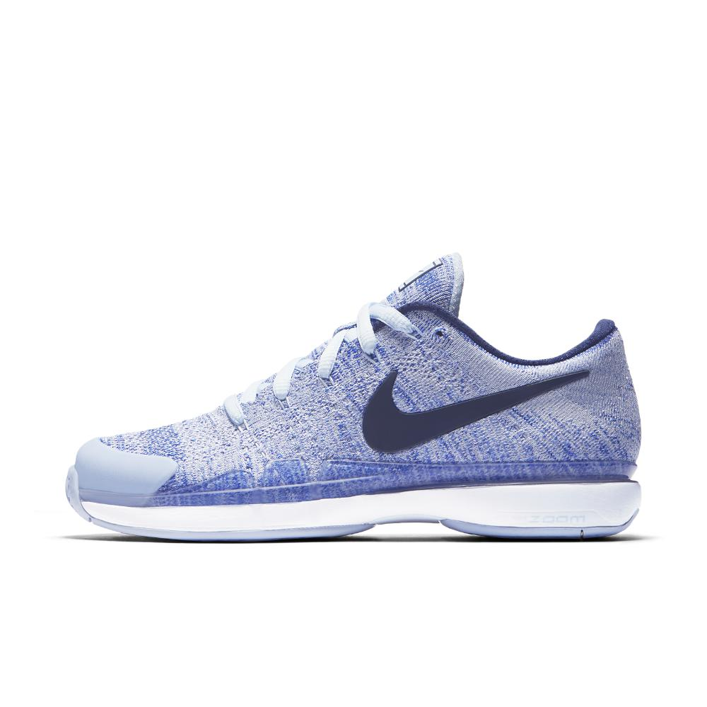premium selection d146c 7791d nike -Hydrogen-BlueWhiteRacer-Blue-Court-Zoom-Vapor-Flyknit-Hard-Court-Womens-Tennis-Shoe.jpeg