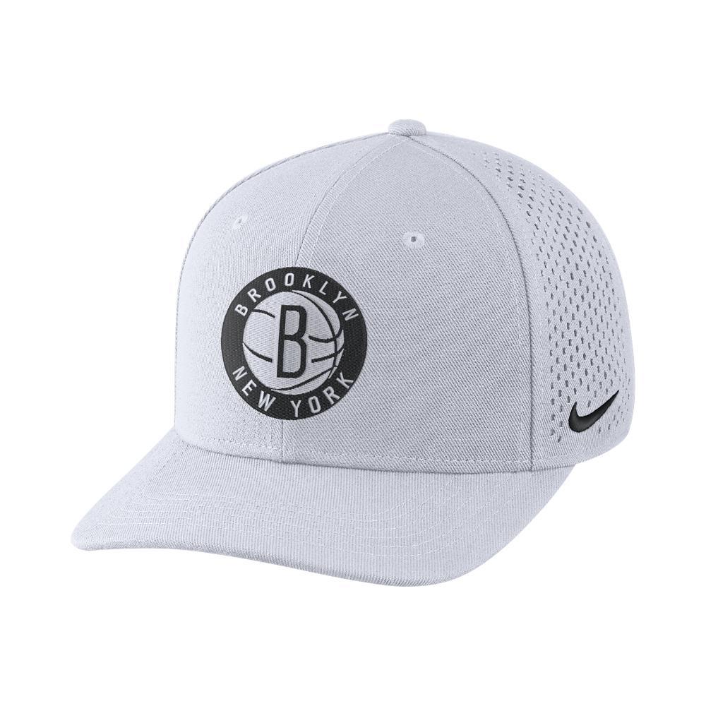 Nike. Men's Brooklyn Nets Aerobill Classic99 Adjustable Nba Hat ...