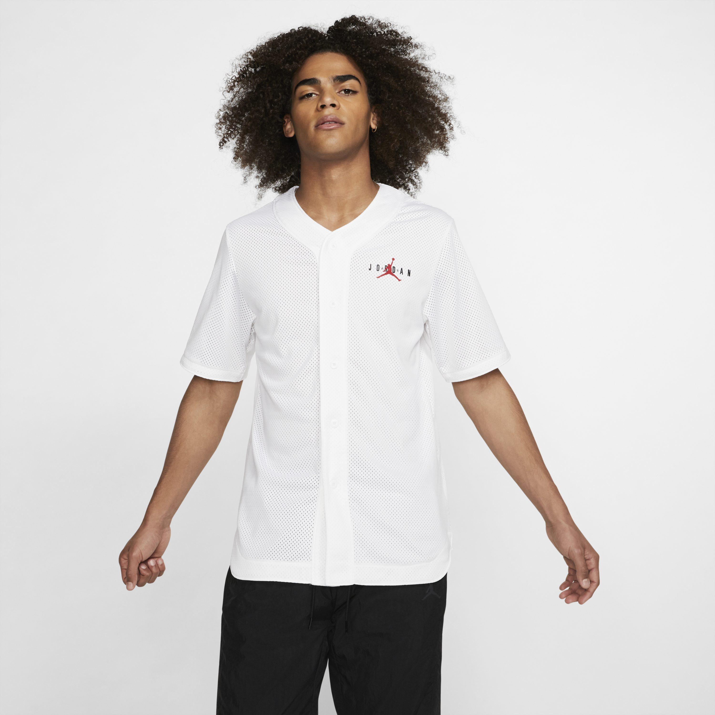 283380abb41684 Nike Jordan Jumpman Air Mesh Top in White for Men - Lyst