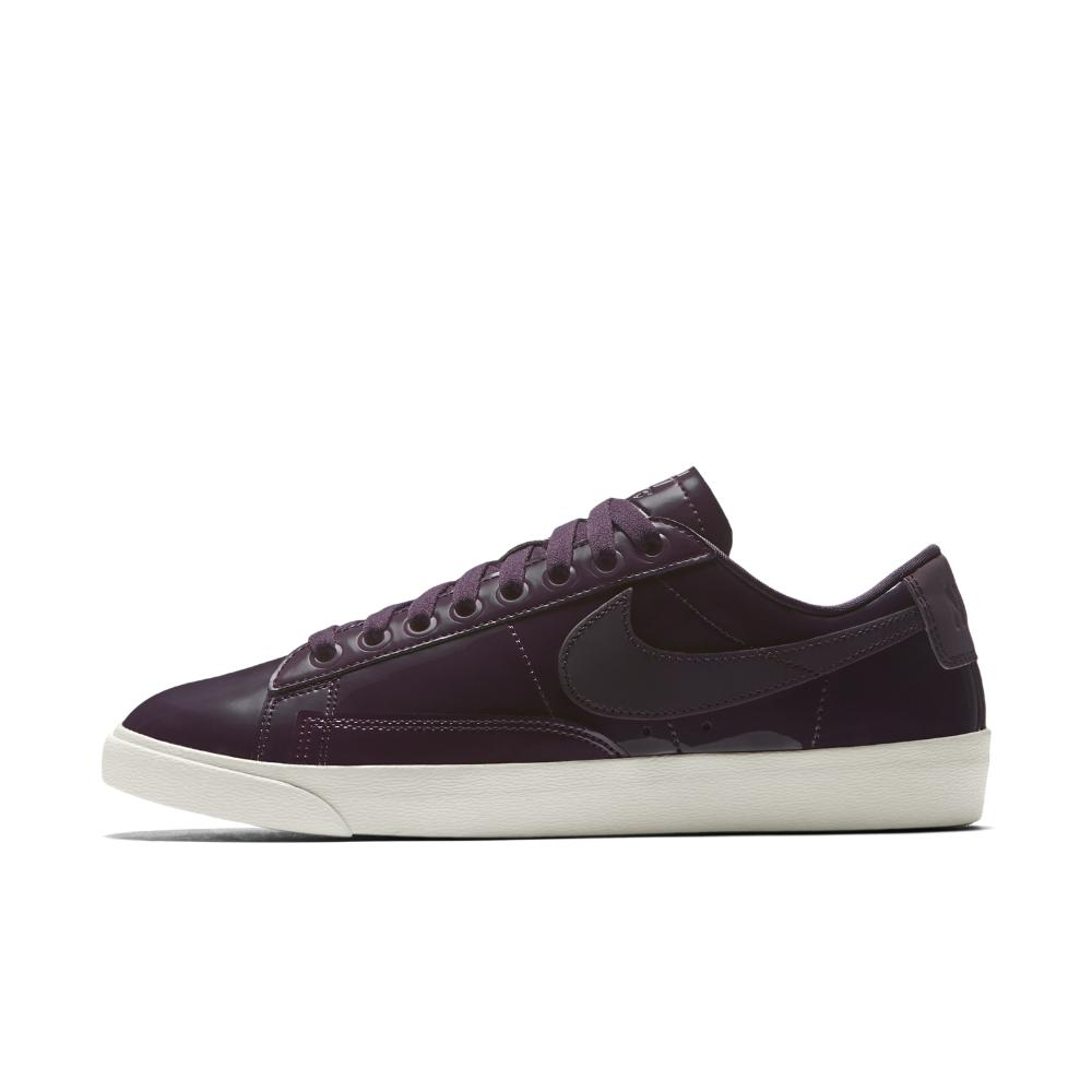 Lyst - Nike The Blazer Premium Low Qs Nocturne Women s Shoe in Brown ae454b068