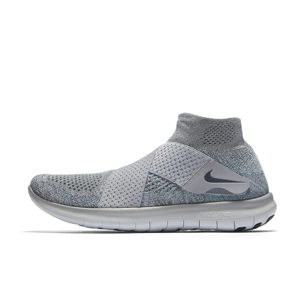 e558d58d839a Nike - Gray Free Rn Motion Flyknit 2017 Men s Running Shoe for Men - Lyst